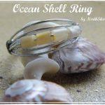 Inspiration Cafe – Ocean Shell Ring