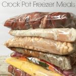 Crock Pot Freezer Meals – Weekend Potluck 287
