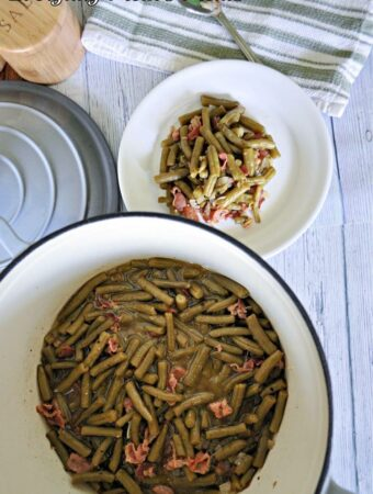 Copycat Texas Roadhouse Green Beans by Everyday Mom's Meals