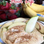 3 Ingredient Fruit Dip (Easy)