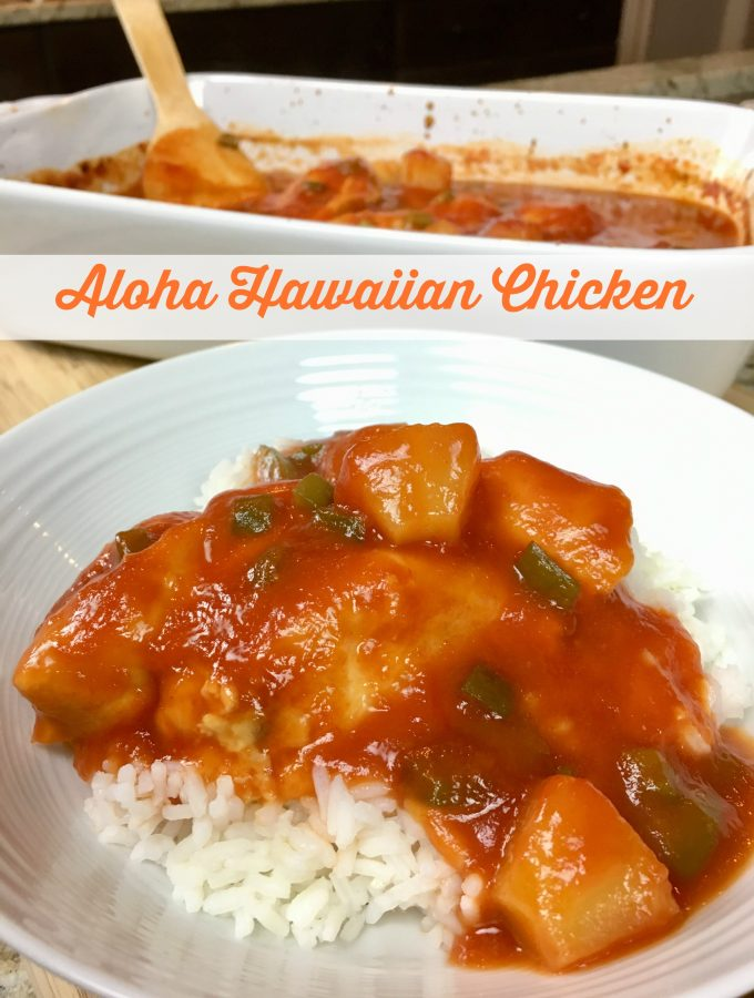 ALOHA HAWAIIAN CHICKEN - Sweet Little Bluebird