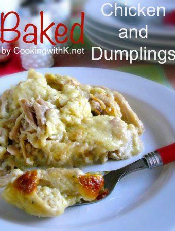 BAKED CHICKEN & DUMPLINGS - Weekend Potluck 397