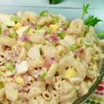 Bacon and Egg Pasta Salad – Weekend Potluck 166