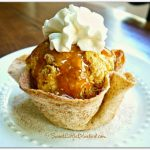 Baked Cinnamon Sugar Tortilla Bowls ~ Super Easy