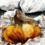 Easy 3 Ingredient Onion Baked Potatoes in Foil – Weekend Potluck 359