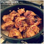 Easy Balsamic Chicken (5 Ingredients)