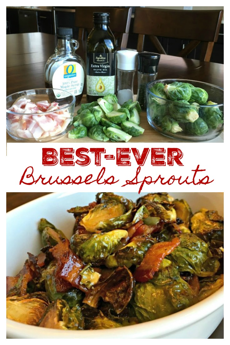 BEST-EVER BRUSSELS SPROUTS - Sweet Little Bluebird