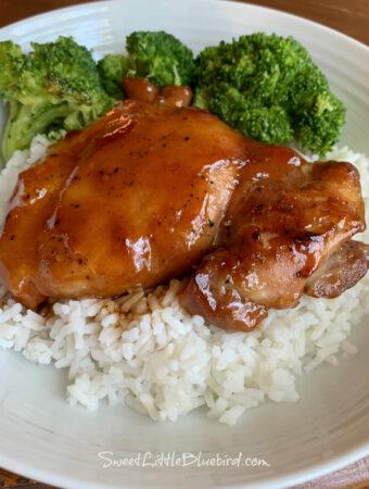 Easy Baked Teriyaki Chicken