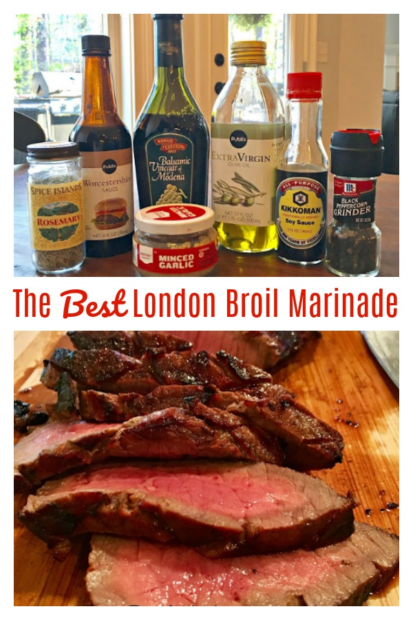 The Best London Broil Marinade Ever