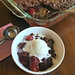 Black Forest Cobbler (4 Ingredients)