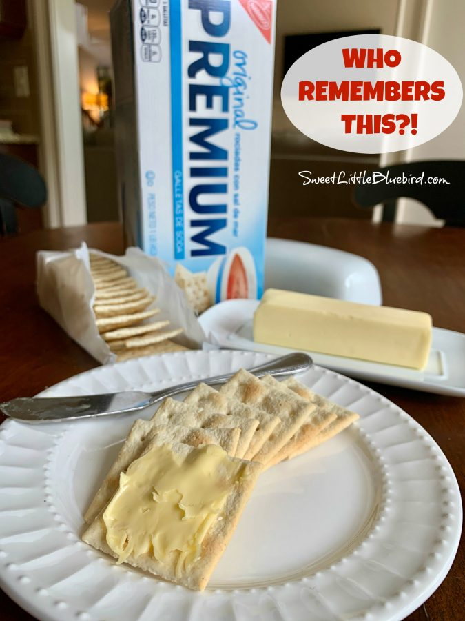Buttered Saltine Crackers