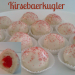 Inspiration Cafe – Traditional Food Series ~ Danish Kirsebaerkugler