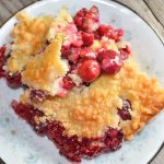 Easy Cherry Crisp – Weekend Potluck 282