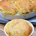 Chicken Cornbread Casserole – Weekend Potluck 308