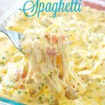 The Best Chicken Spaghetti  – Weekend Potluck 231