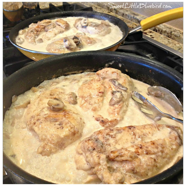 Chicken Breasts in Lemon Cream Sauce, see more at http://homemaderecipes.com/quick-easy-meals/16-easy-chicken-breast-recipes/