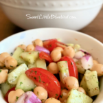 Chickpea Salad  (Easy Side Dish or Main Dish)