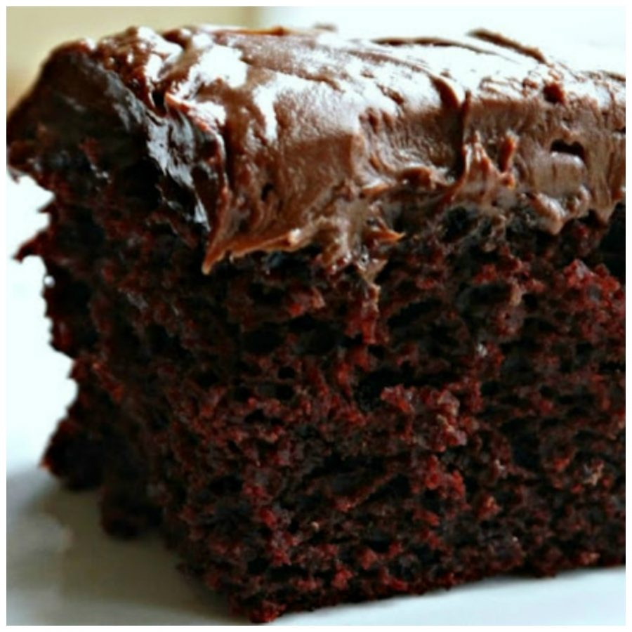 Chocolate Crazy Cake No Eggs Milk Butter Or Bowls