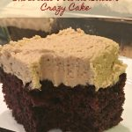 Chocolate Peanut Butter Crazy Cake
