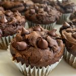 Easy Chocolate Pumpkin Muffins