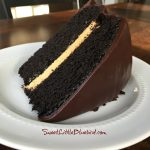Chocolate Pumpkin Cake – Chocolate Layer Cake with Pumpkin Cream  Filling