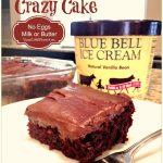 Chocolate Mint Crazy Cake – No eggs, Milk or Butter