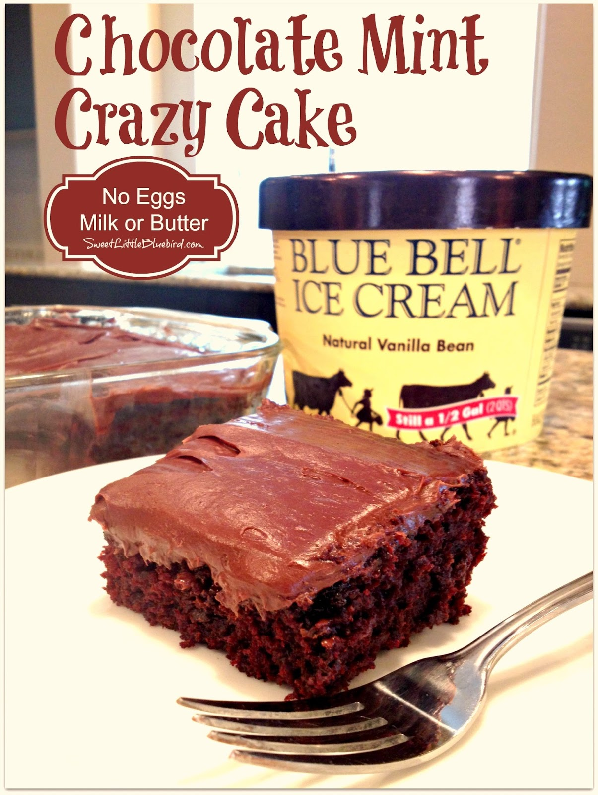 crazy chocolate cake chocolate mint cake no eggs milk or butter 3168