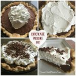 The Best Homemade Chocolate Pudding Pie
