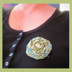 Inspiration Cafe ~ No Sew Rosettes by Heather of The Beating Hearth