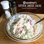 Grandma's Cottage Cheese Salad