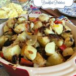 Country Style Skillet  Breakfast Potatoes