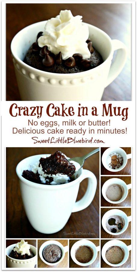 How To Make Mug Cake With Just Regular Cake Mix