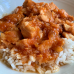 Easy Crock Pot Sweet and Sour Chicken (4 Ingredients)