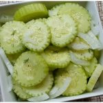 Cucumber Salad – Weekend Potluck 283