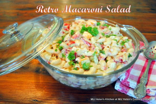 Retro Macaroni Salad - Weekend Potluck 385