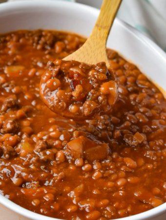 Best-Ever Baked Beans - Weekend Potluck 384