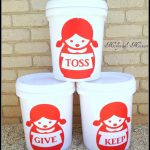 Inspiration Cafe – Organizing Buckets