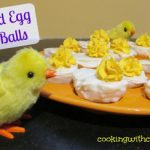 Deviled Egg Cake Balls – Weekend Potluck 268