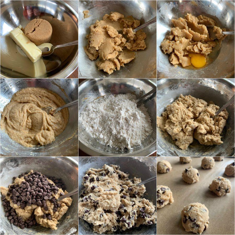 EASY BISQUICK CHOCOLATE CHIP COOKIES - Sweet Little Bluebird