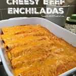 Easy Cheesy Beef Enchiladas  (4 Ingredients)