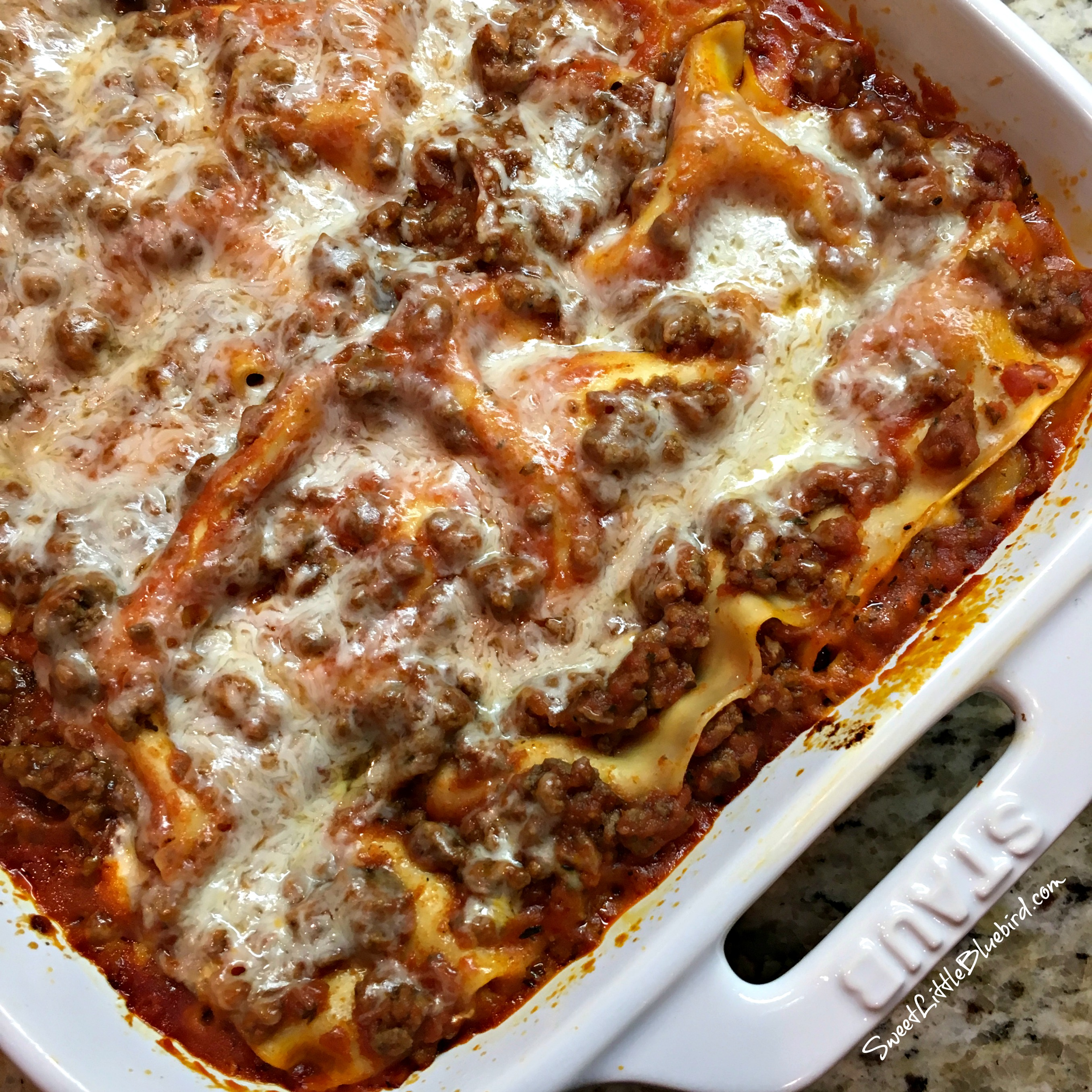 Magnificent Quick And Easy Lasagna Sweet Little Bluebird Home Interior And Landscaping Mentranervesignezvosmurscom