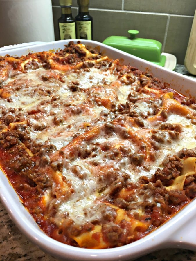 Quick Easy No Boil Lasagna