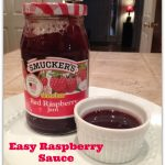 Quick & Easy Raspberry Sauce (Jalapeno Popper Dipping Sauce)