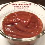 Easy Homemade Steak Sauce
