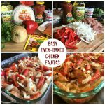 Easy Oven-Baked Fajitas (Chicken or Steak)
