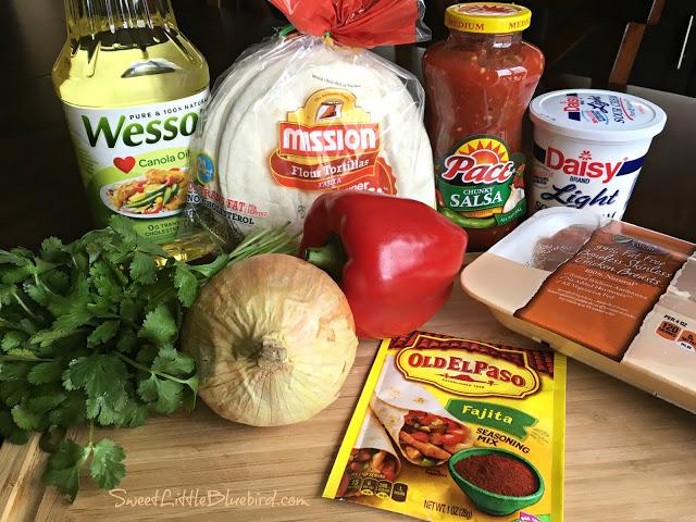 Easy Oven-Baked Chicken Fajitas Ingredients