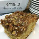 Farmhouse Buttermilk Cake