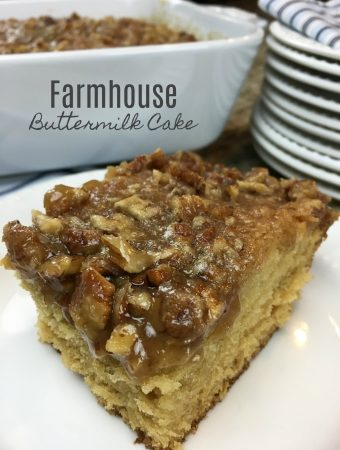 Farmhouse Buttermilk Cake Recipe