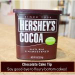 Tried & True Tuesday ~  Chocolate Cake Baking Tip