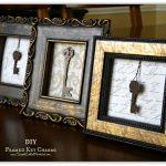 DIY Framed Keys
